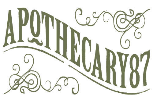 Apothecary87 since 2013