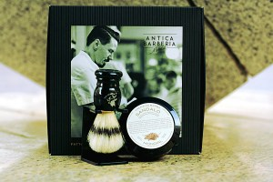 ANTICA BARBERIA Cofanetto con set rasatura