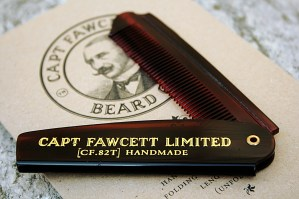 CAPTAIN FAWCETT - Pettine da Barba