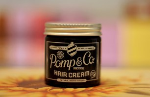 POMP&CO HAIR CREAM NATURAL MATTE FINISH