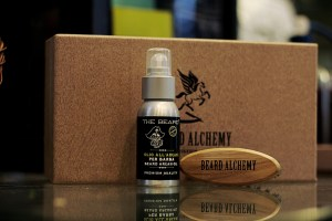 BEARD ALCHEMY - Box con Olio da barba The Beard e Travel Brush