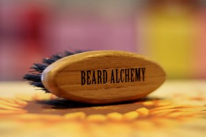 BEARD ALCHEMY - Gattamelata -  Beard&Mustache Brush Travel Size Brush